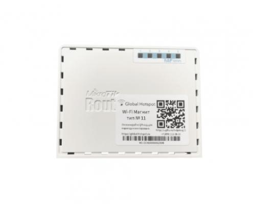 static Wi-Fi radar mikrotik